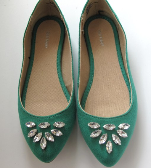 DIY Rhinestone Flats See Song Designs