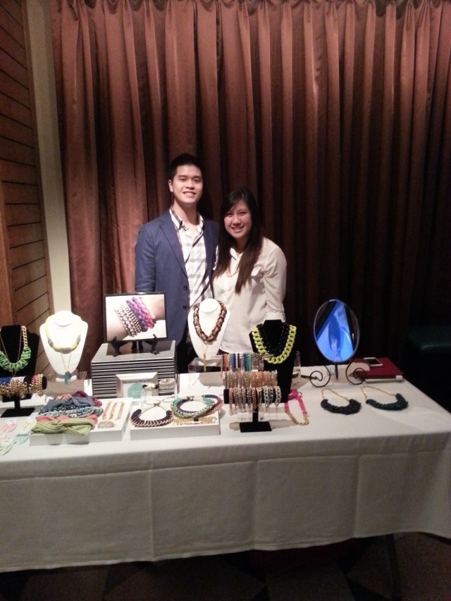 My boyfriend and I at the SSD table :)