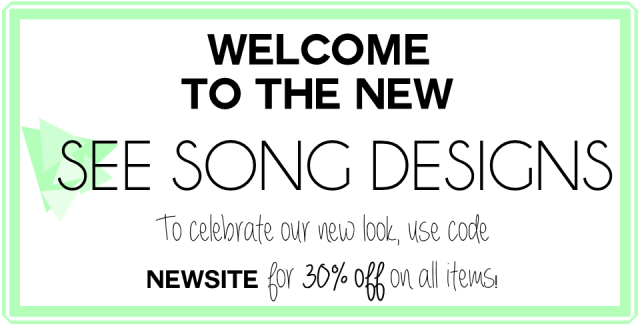 Special offer from See Song Designs!